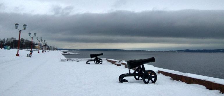 В Петрозаводск зимой на машине